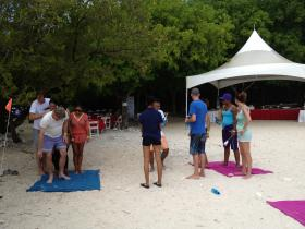 Battle of the Flag - Beach games tournament